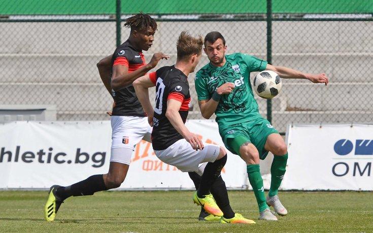 Локо Пловдив продължава с победната серия и срещу Витоша