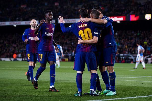 Барселона протяга ръце към четвъртфиналите за Купата на Краля