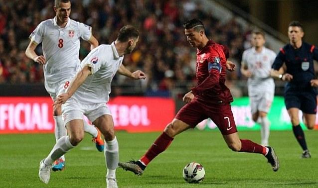 Португалия на поправителен срещу сръбската селекция